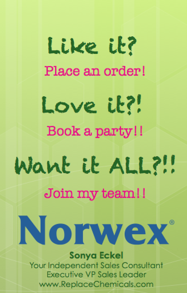 Book a Norwex Party | Norwex helps Replace Chemicals ...